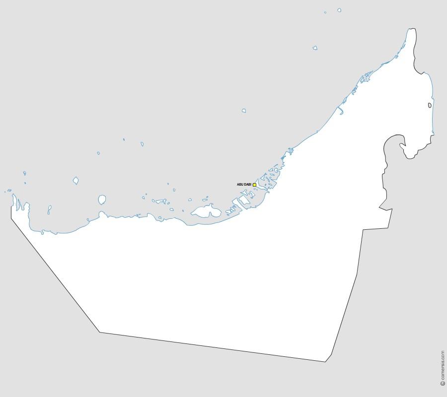 Maps of United Arab Emirates – Map of United Arab Emirates