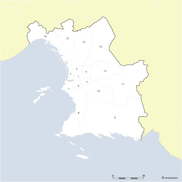 carte arrondissements de marseille. Black Bedroom Furniture Sets. Home Design Ideas