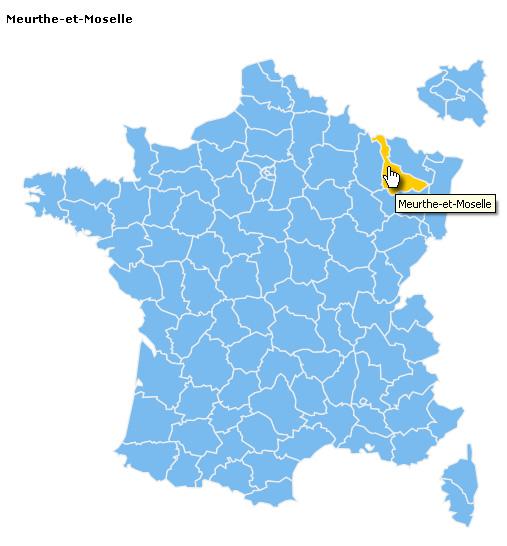 départements de France - responsive