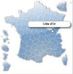 d�partements de France cliquables pour Joomla