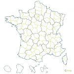 de France par regions et d�partements