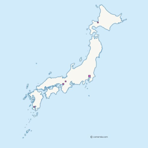 Free Map Of Japan EUER - Japan map vector free download