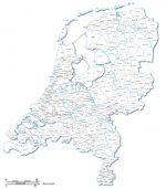 communes et villes des Pays-Bas