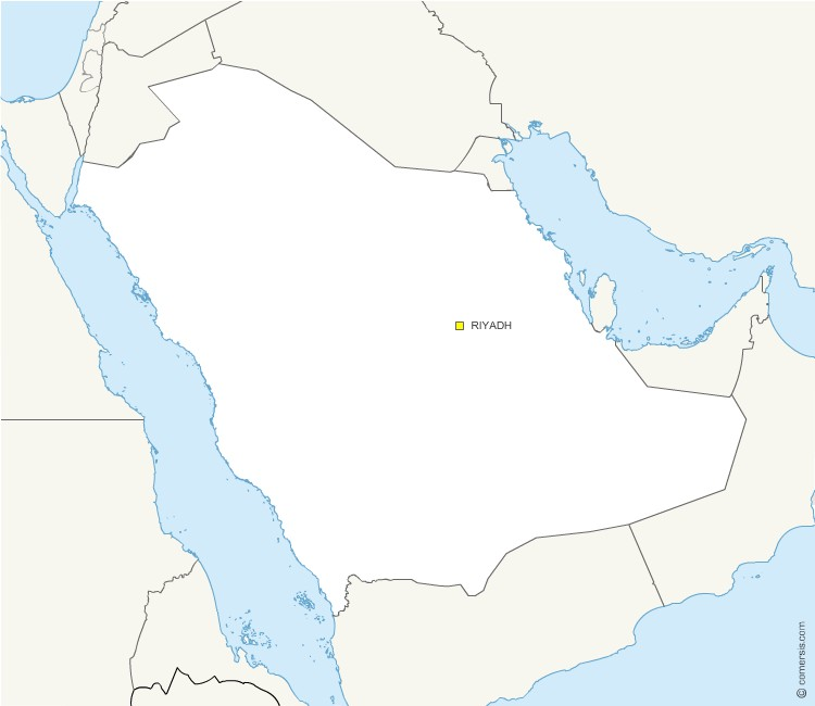Saudi Arabia Map Free Download Zoom · Free Saudi Arabia