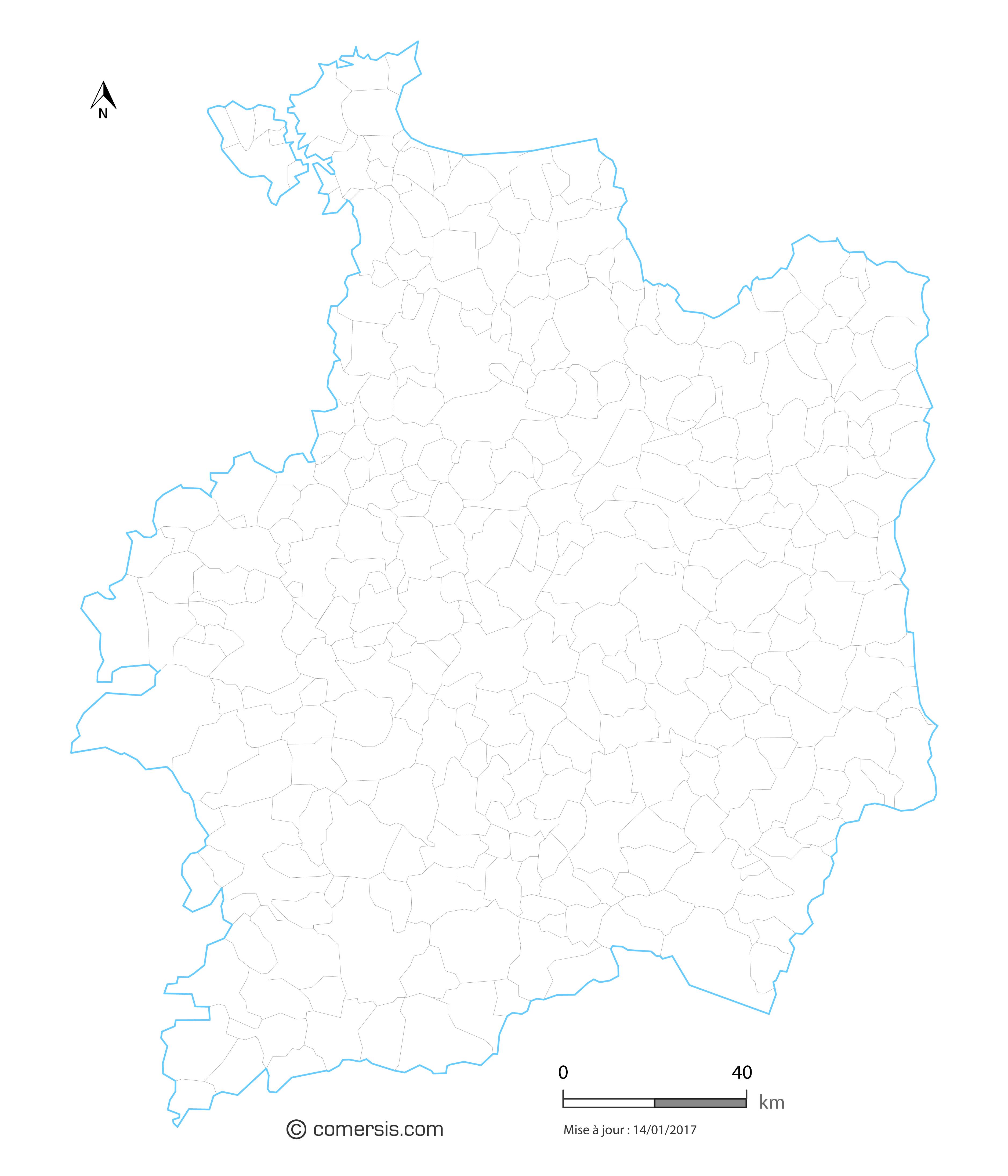 Exemple de carte du contours des communes jpg HD comersis.com