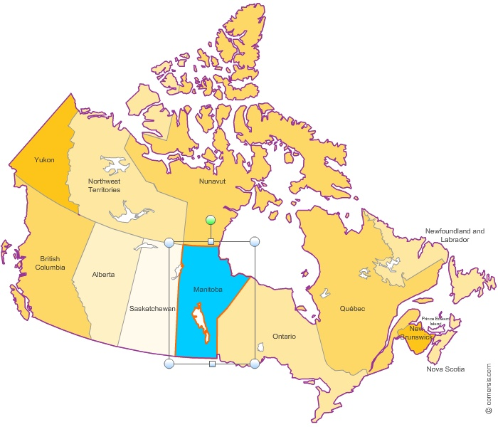 provinces in canada. Download Canada-provinces Free