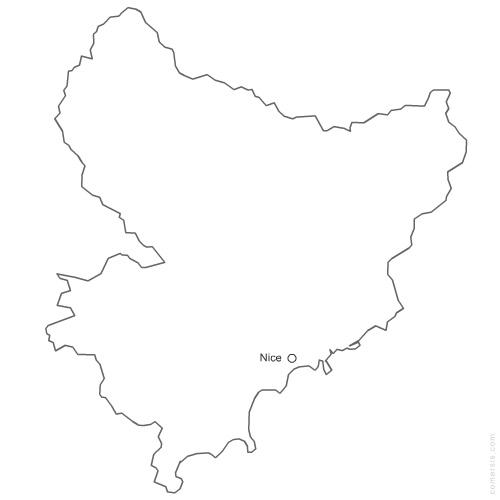 Maps of AlpesMaritimes