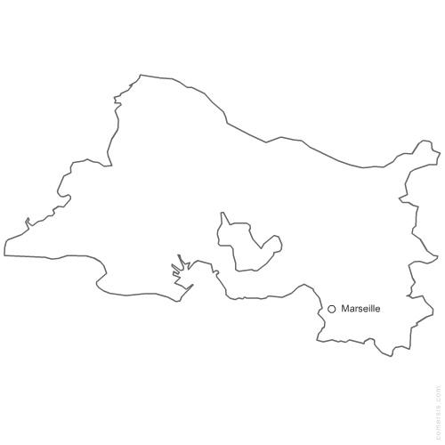 département des Bouches du Rhône 13