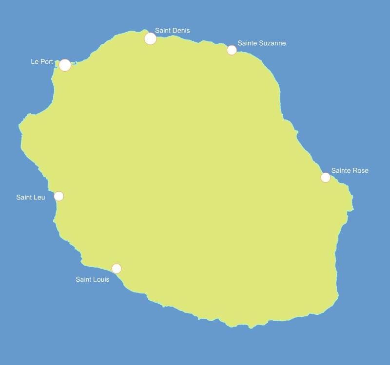 département de la Réunion 974