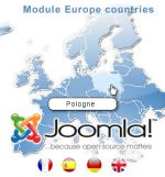 Clickable map of Europe - module for Joomla