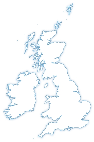 Free United Kingdom vector map