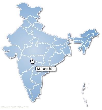 régions de l'inde cliquable