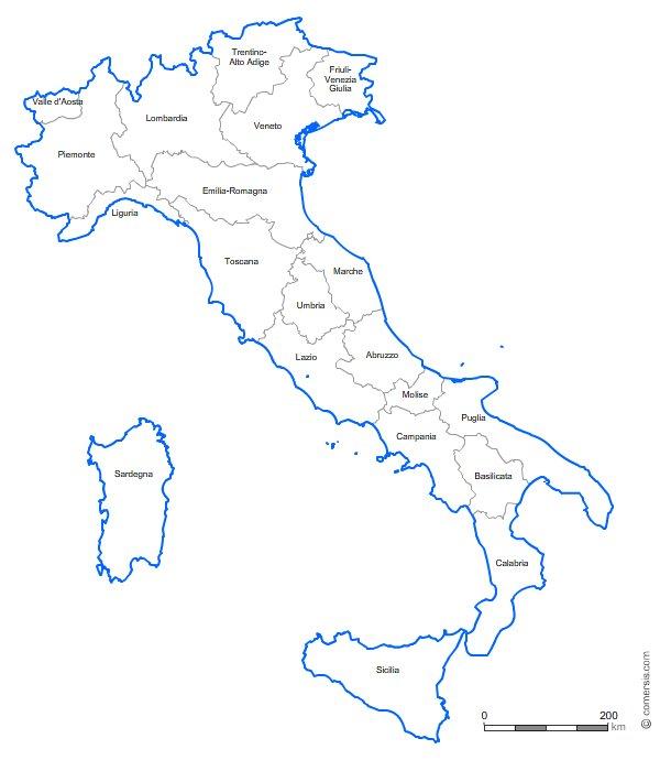 Italia regions fr Office