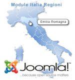 carte interactive d'Italie pour Joomla