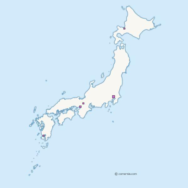 Free Vector Map Of Japan - Japan map free