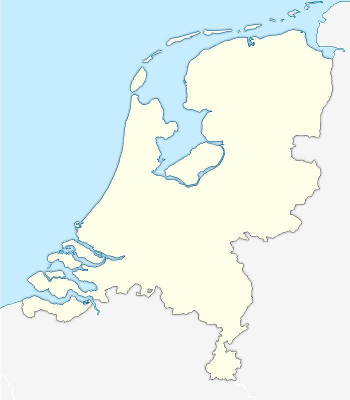 Fond de carte vectorielle des Pays Bas (Hollande) gratuit