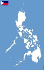 Philippines free vector map