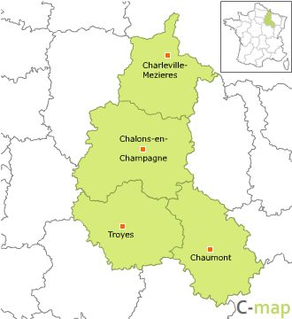 Maps of ChampagneArdenne