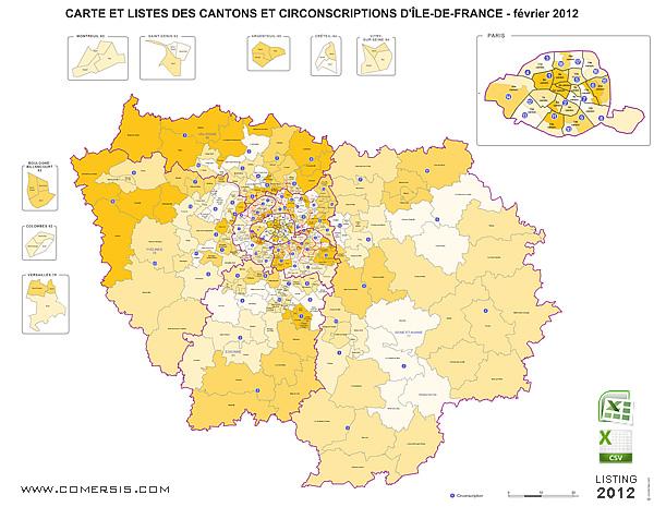 Maps Of Ile De France