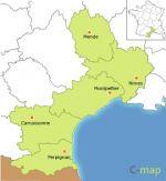 région du Languedoc-Roussillon