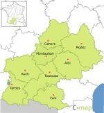 région du Midi-Pyrénées