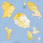 des cantons des  Départements d'Outre-Mer 2012.