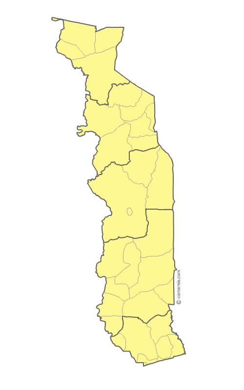 Maps of Togo