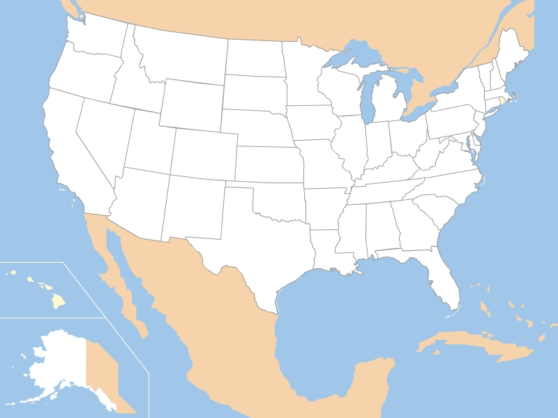 Maps of United States USA