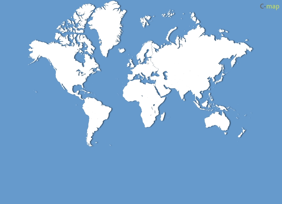 world map blank with countries. Blank World map Flash and eps